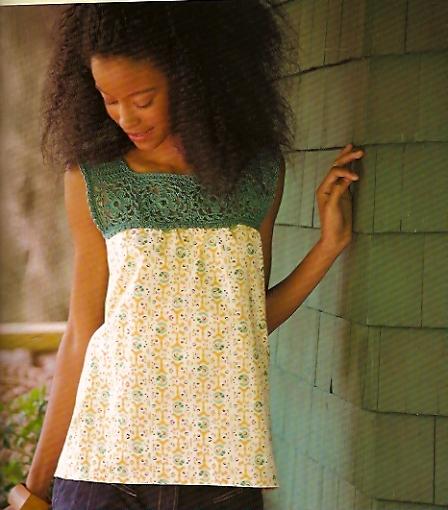 Crochet adorned 3